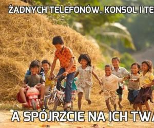 Żadnych telefonów, konsol i telewizji