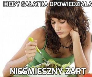 Kiedy sałatka opowiedziała