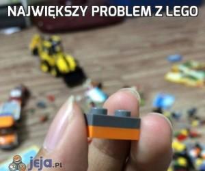 Największy problem z Lego