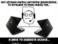 Gdy używam dwóch laptopów jednocześnie