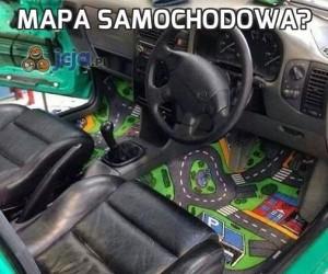 Mapa samochodowa?