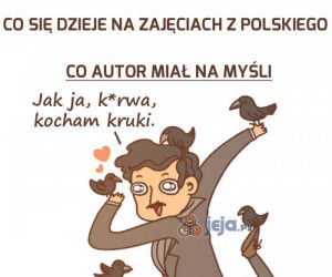 Co się dzieje na zajęciach z polskiego
