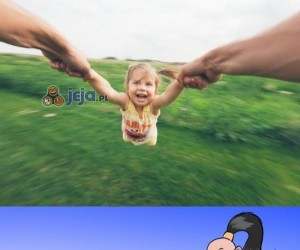 Goro uwielbia dzieci