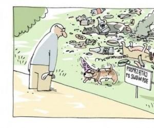 """""""Posprzątaj po swoim psie"""""""