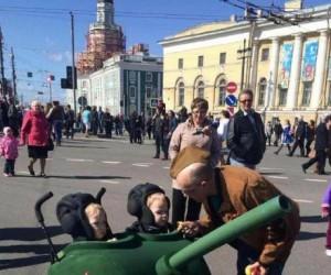 Putin jest dumny z młodych żołnierzy