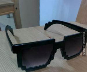 Pixelowate okulary