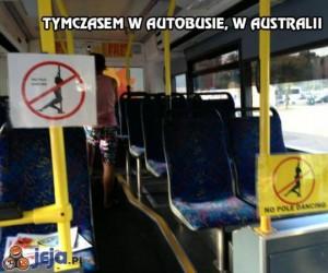 Tymczasem w autobusie, w Australii
