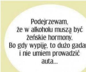 Alkohol jest jak kobieta