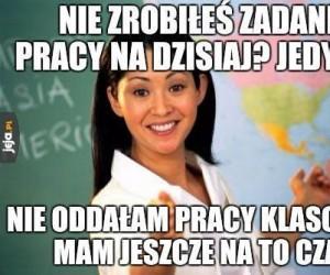 Typowy nauczyciel