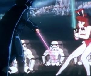 Pamiętacie jak Vader walczył z króliczkiem Playboya?