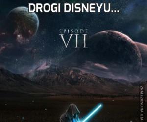 Drogi Disneyu...