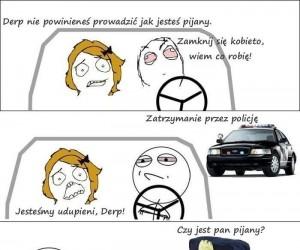 Prowadzenie samochodu pod wpływem alkoholu