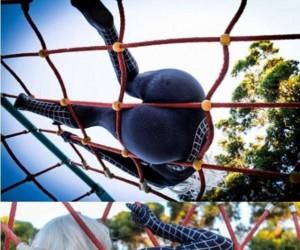 Spiderman znalazł smaczny kąsek