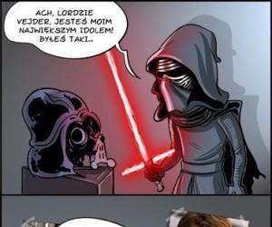 Oto jeden z powodów dlaczego Kylo Ren jest fanem Vadera