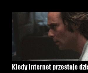Gdy internet przestaje działać