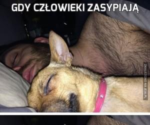 Gdy człowieki zasypiają