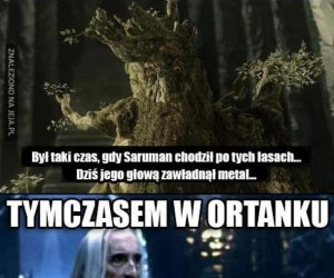 Saruman przeszedł na ciemną stronę mocy