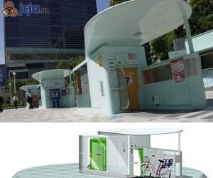 Podziemne rowerowe parkingi w Japonii