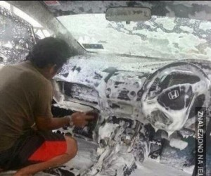 Mycie auta - robisz to źle