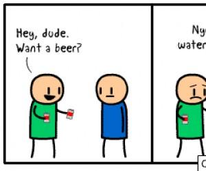 Chcesz piwo?