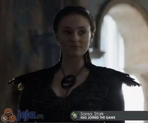 Sansa Stark dołączyła do gry