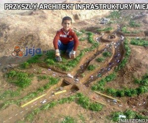 Przyszły architekt infrastruktury miejskiej