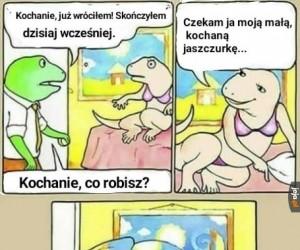 Kameleony mają w życiu łatwiej