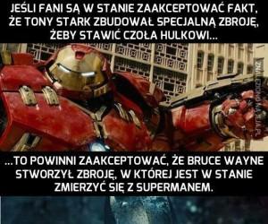 Nowe zbroje Iron Mana i Batmana