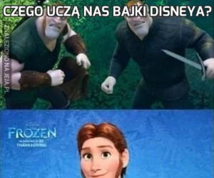Czego uczą nas bajki Disneya?