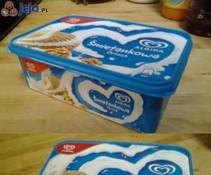 To okropne uczucie, gdy wyciągasz pudełko po lodach z zamrażarki