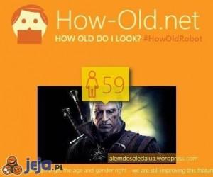 Wiek Geralta ustalony