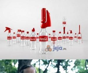 Gadżety do butelek od Coca Coli