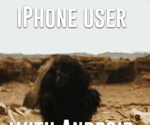 Gdy użytkownik iPhone'a dorwie się do Androida