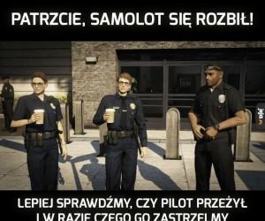 Żelazna logika policji w GTA