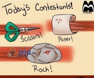 Kamień, papier i nożyce!