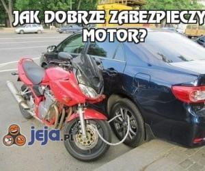Jak dobrze zabezpieczyć motor?