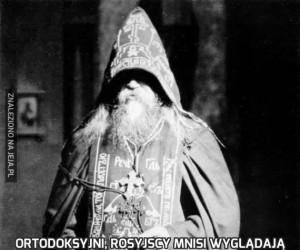 Ortodoksyjni, rosyjscy mnisi wyglądają jak jacyś pier**leni magowie
