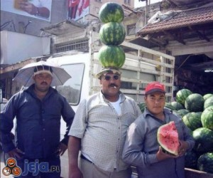 Sprzedawcy arbuzów