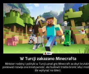 W Turcji zakazano Minecrafta