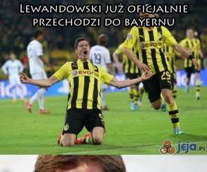 Lewandowski już oficjalnie w Bayernie