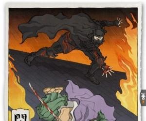 Batman i Joker w japońskiej wersji