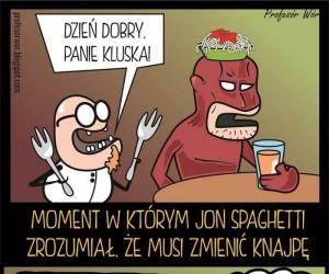 Profesor Wór vs Jon Spaghetti