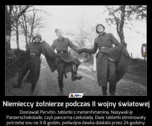 Niemieccy żołnierze podczas II wojny światowej