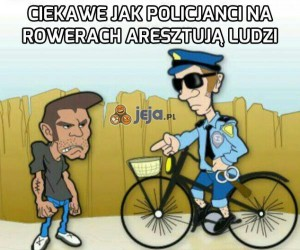 Aresztowanie na rowerze