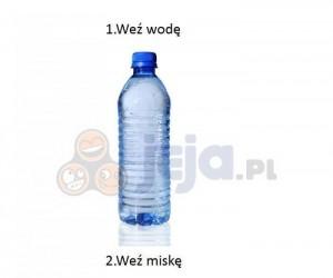 Woda w misce