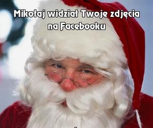 Mikołaj widział Twoje zdjęcia