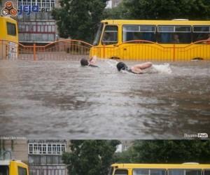 Odkryty basen w Rosji