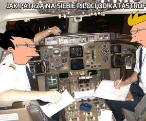 Jak patrzą na siebie piloci od katastrofy...