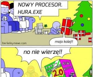 Nowy świąteczny robo-brat