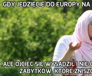Gdy jedziecie do Europy na wakacje